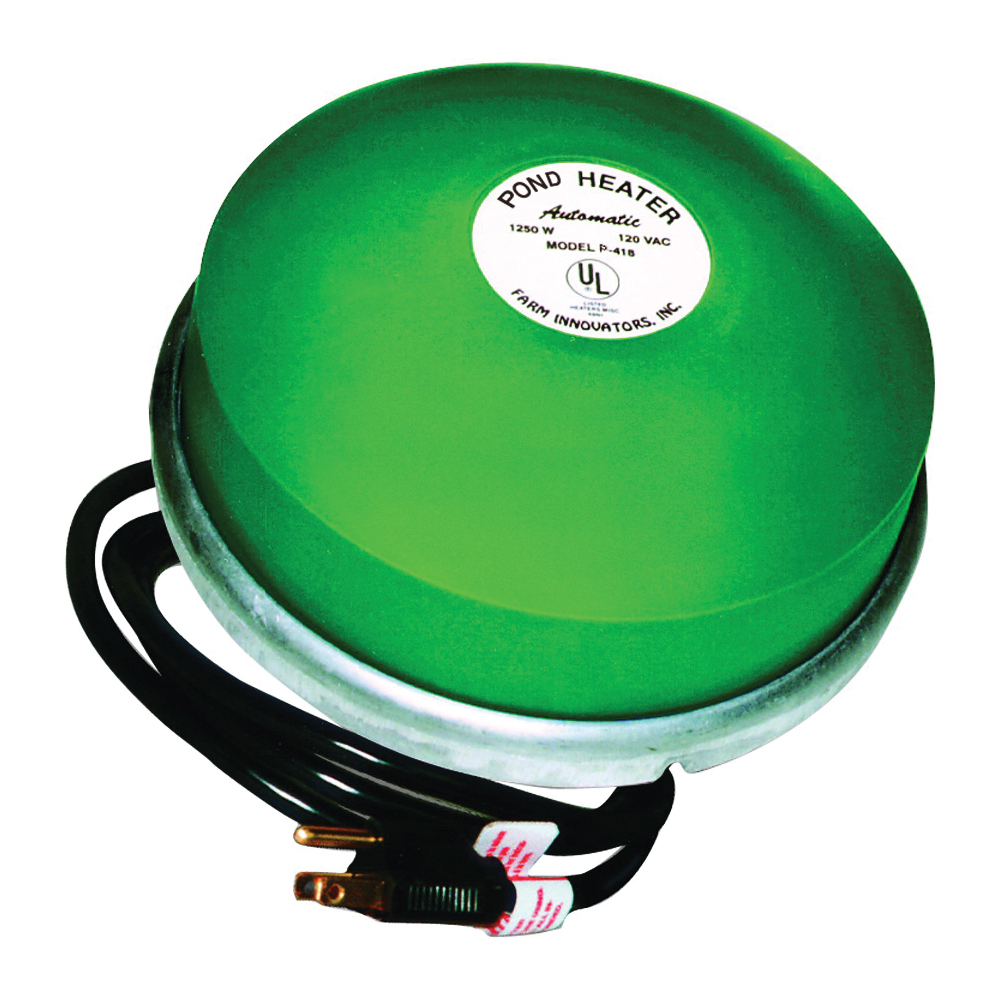 Picture of Ice Chaser P-418 Pond De-Icer, 50 to 60 gal Tank, 10 ft L Cord, 1250 W