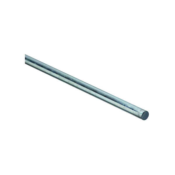 Picture of Stanley Hardware 4005BC Series 179788 Smooth Rod, 3/8 in Dia, 36 in L, Steel, Zinc