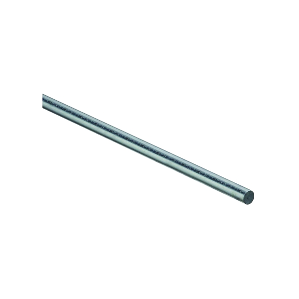 Picture of Stanley Hardware 4005BC Series 179796 Smooth Rod, 7/16 in Dia, 36 in L, Steel, Zinc