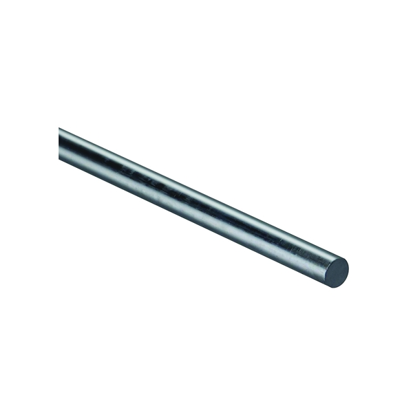 Picture of Stanley Hardware 4005BC Series 179804 Smooth Rod, 1/2 in Dia, 36 in L, Steel, Zinc