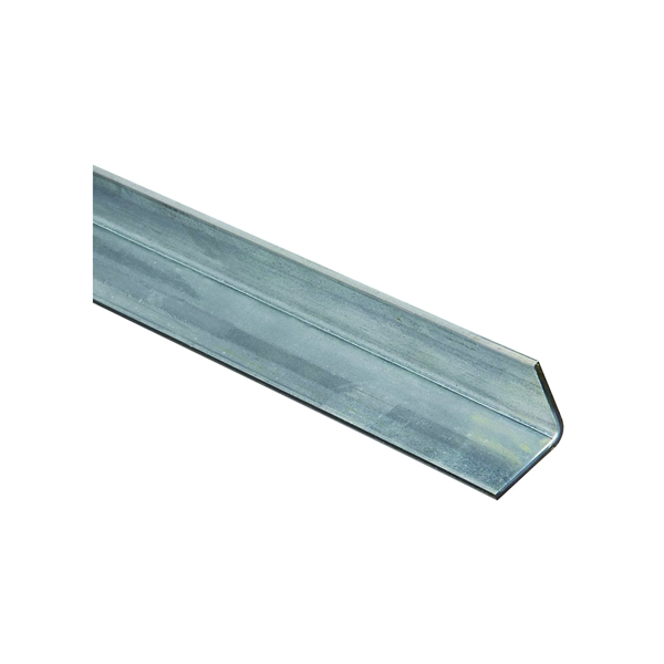 Picture of Stanley Hardware 4010BC Series 179952 Solid Angle, 1-1/4 in L Leg, 36 in L, 0.12 in Thick, Galvanized Steel