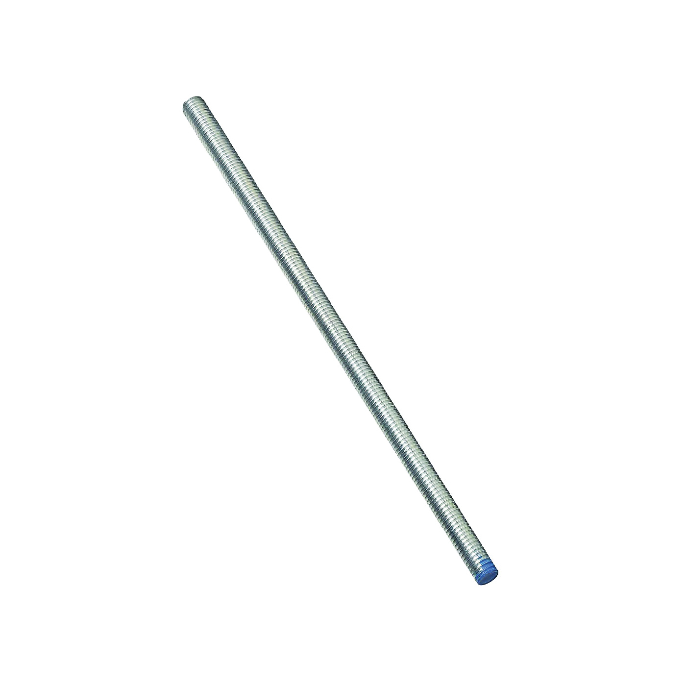 Picture of Stanley Hardware 179457 Threaded Rod, 1/2-13 Thread, 24 in L, A Grade, Steel, Zinc, UNC Thread