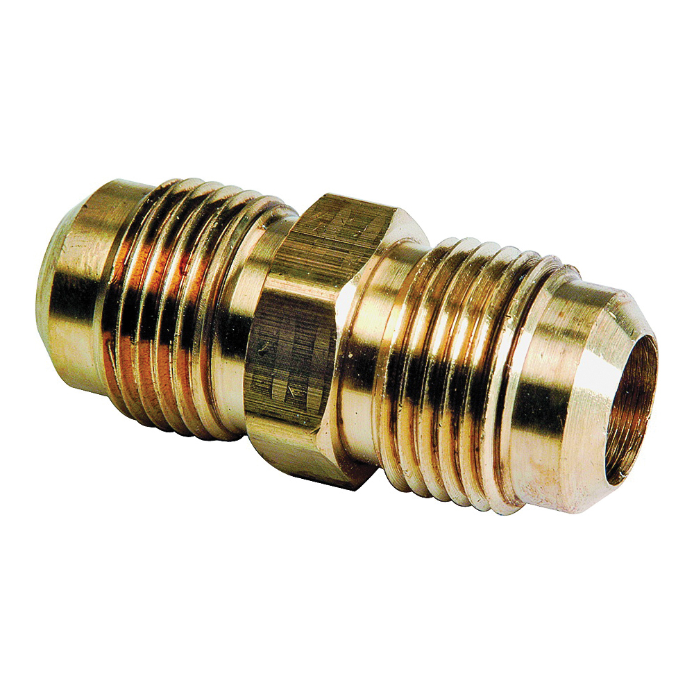 Picture of BrassCraft FU3-6 Flare Union, 3/8 in, Flare, 1-3/32 in L