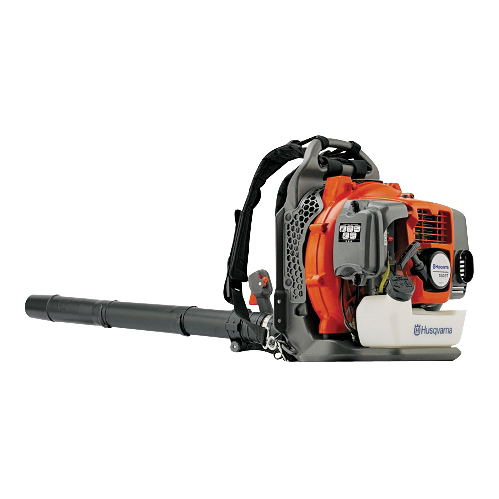 Picture of Poulan Pro 150BT Leaf Blower, Gas, 50.2 cc Engine Displacement, 2-Cycle Engine, 434.37 cfm Air, Orange