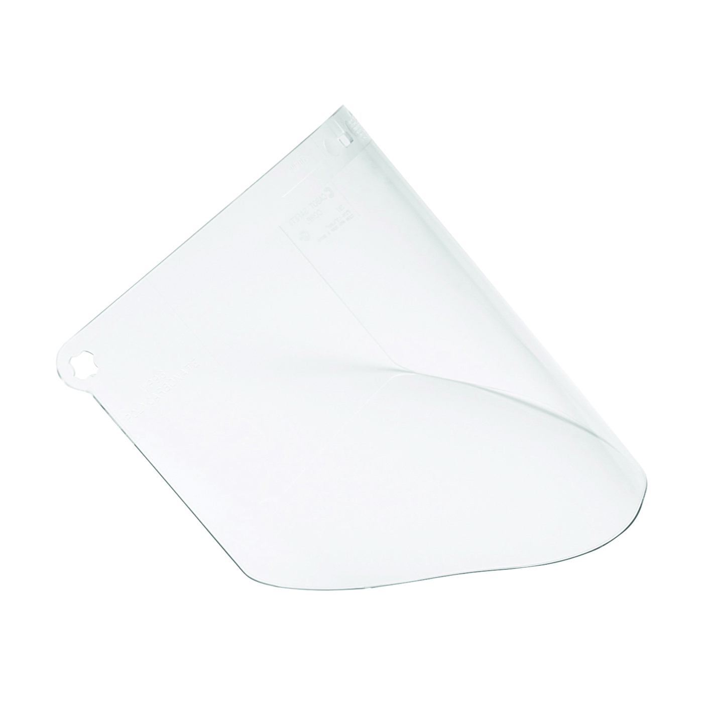 Picture of 3M 90030-80000T Faceshield Window, Polycarbonate, Clear