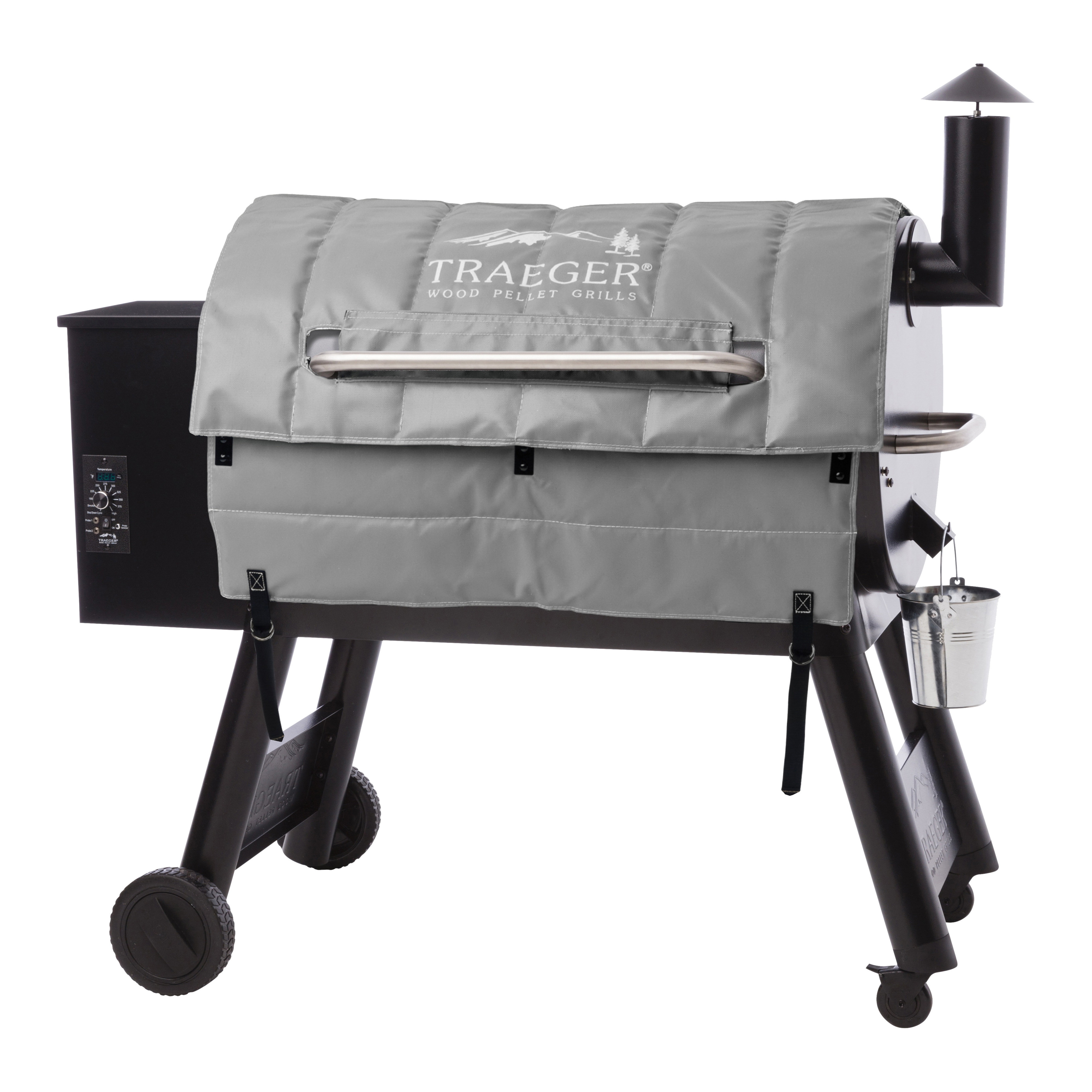 Picture of Traeger BAC345 Grill Insulation Blanket, Gray, For: Texas and 34 Series Grill Models