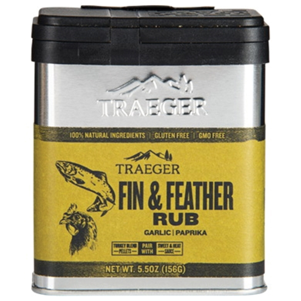 Picture of Traeger SPC176 Fin and Feather Rub, 5.5 oz Capacity, Aluminum