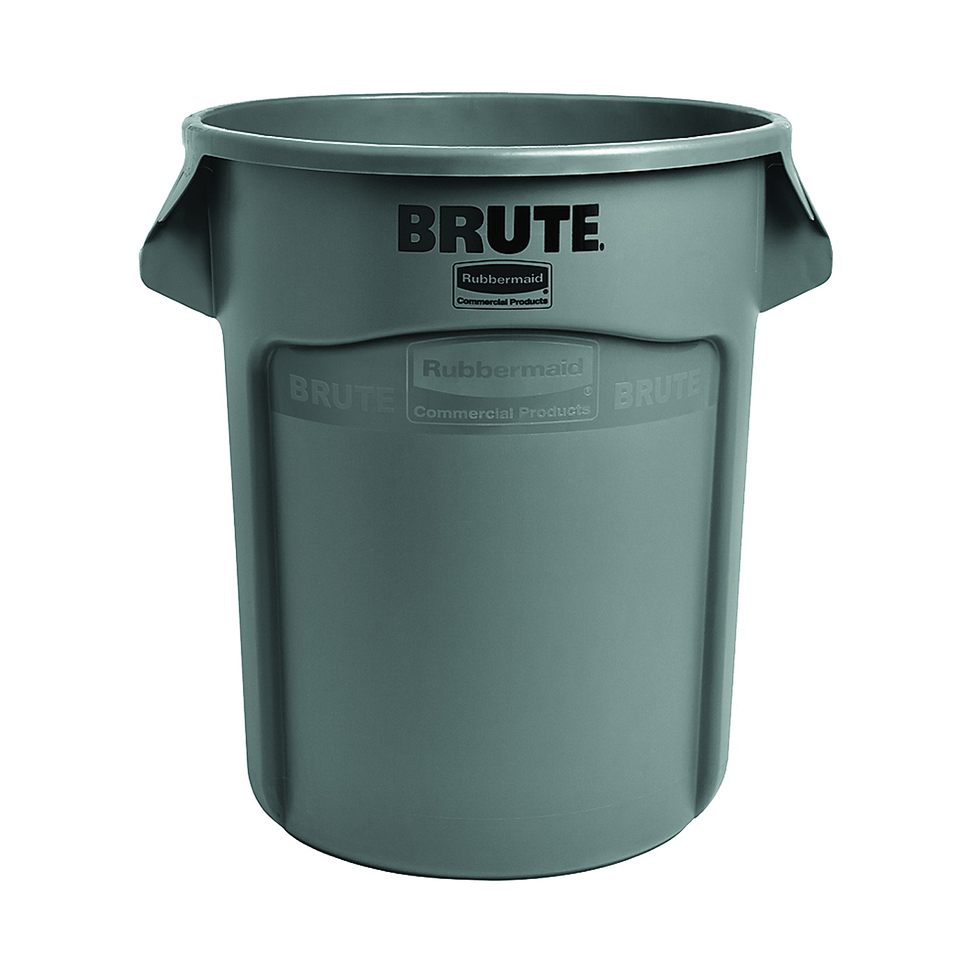 Picture of Rubbermaid 262016GRAY Trash Container, 20 gal Capacity, Plastic, Gray
