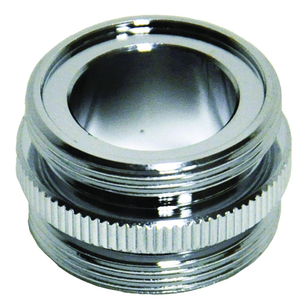Picture of Danco 10524 Aerator Adapter, 15/16-27 in, Male, Brass, Chrome