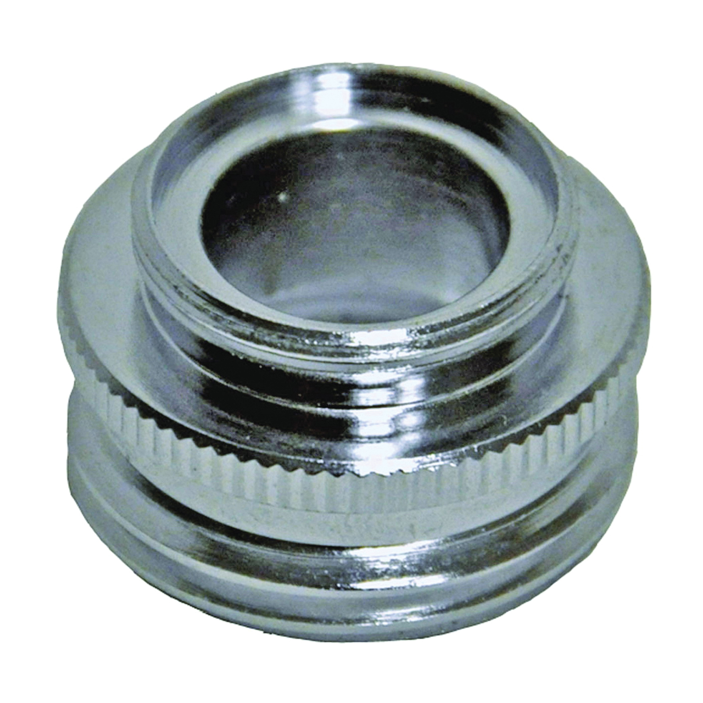 Picture of Danco 10522 Hose Adapter Male x GHM/Female Male x GHM/Female, Male x GHM/Female, Brass, Chrome