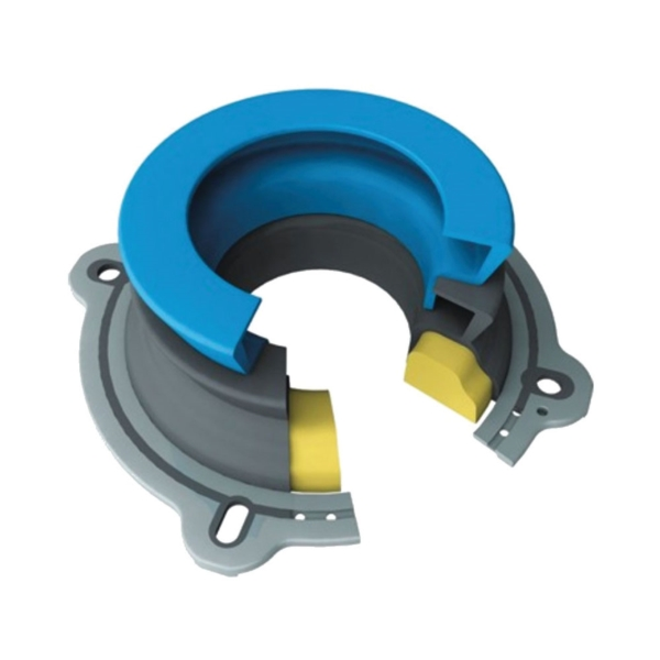 Picture of Next by DANCO 10718X Toilet Wax Ring, 2-1/4 in ID x 4-3/4 in OD Dia, Rubber, Black/Blue
