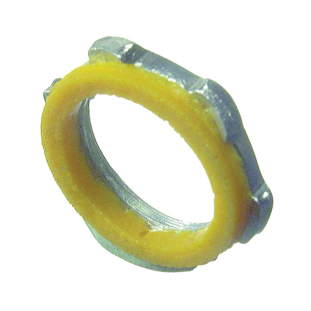 Picture of Halex 61820B Sealer Locknut, 2 in Trade, PVC/Steel, Zinc