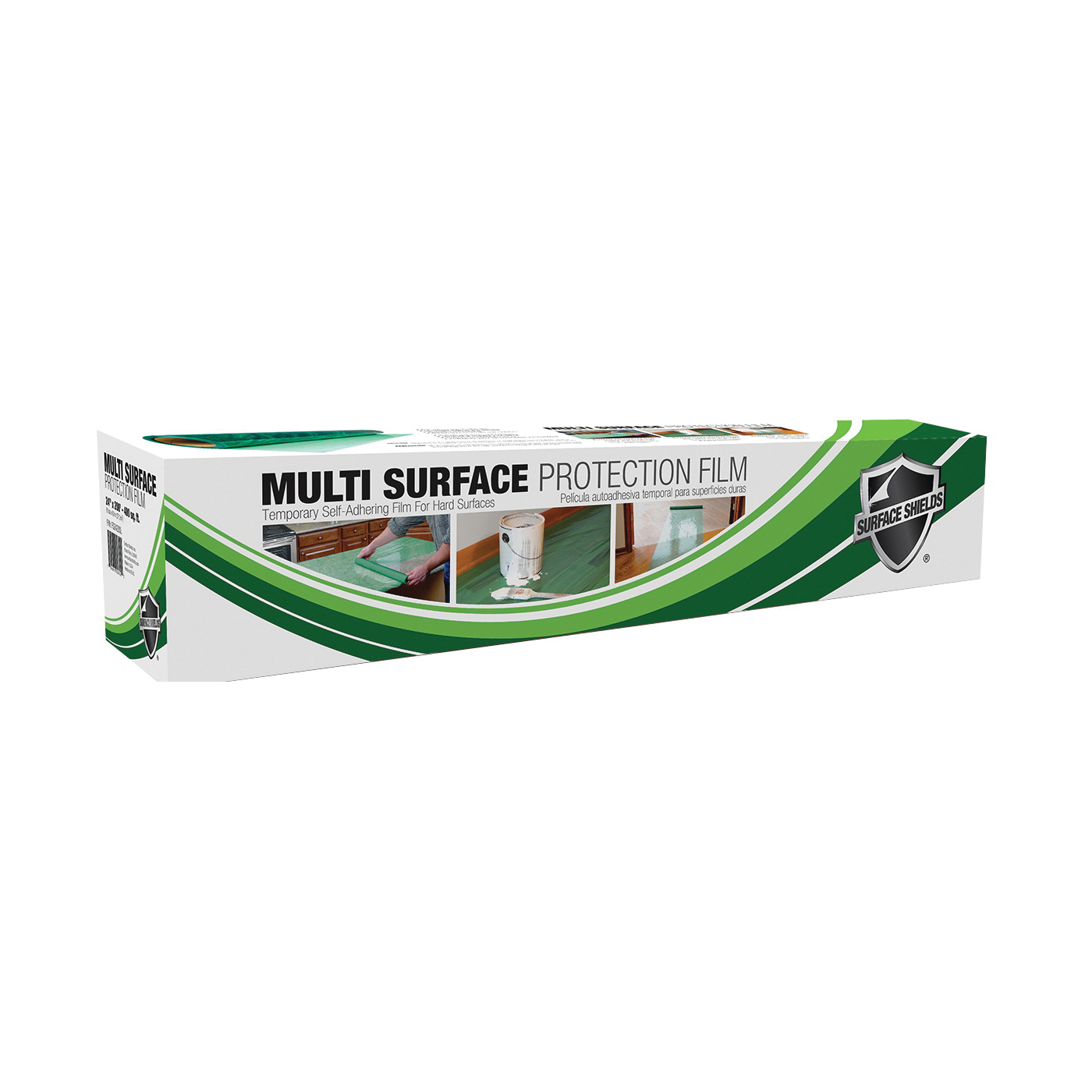 Picture of SURFACE SHIELDS MU2450W Protection Film, 50 ft L, 24 in W, 3 mil Thick, Polyethylene, Green