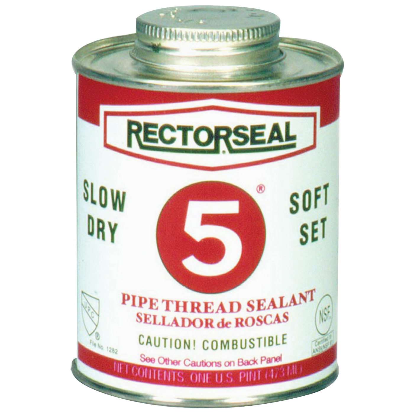 Picture of RECTORSEAL 25431 Thread Sealant, 1 pt, Can, Paste, Yellow
