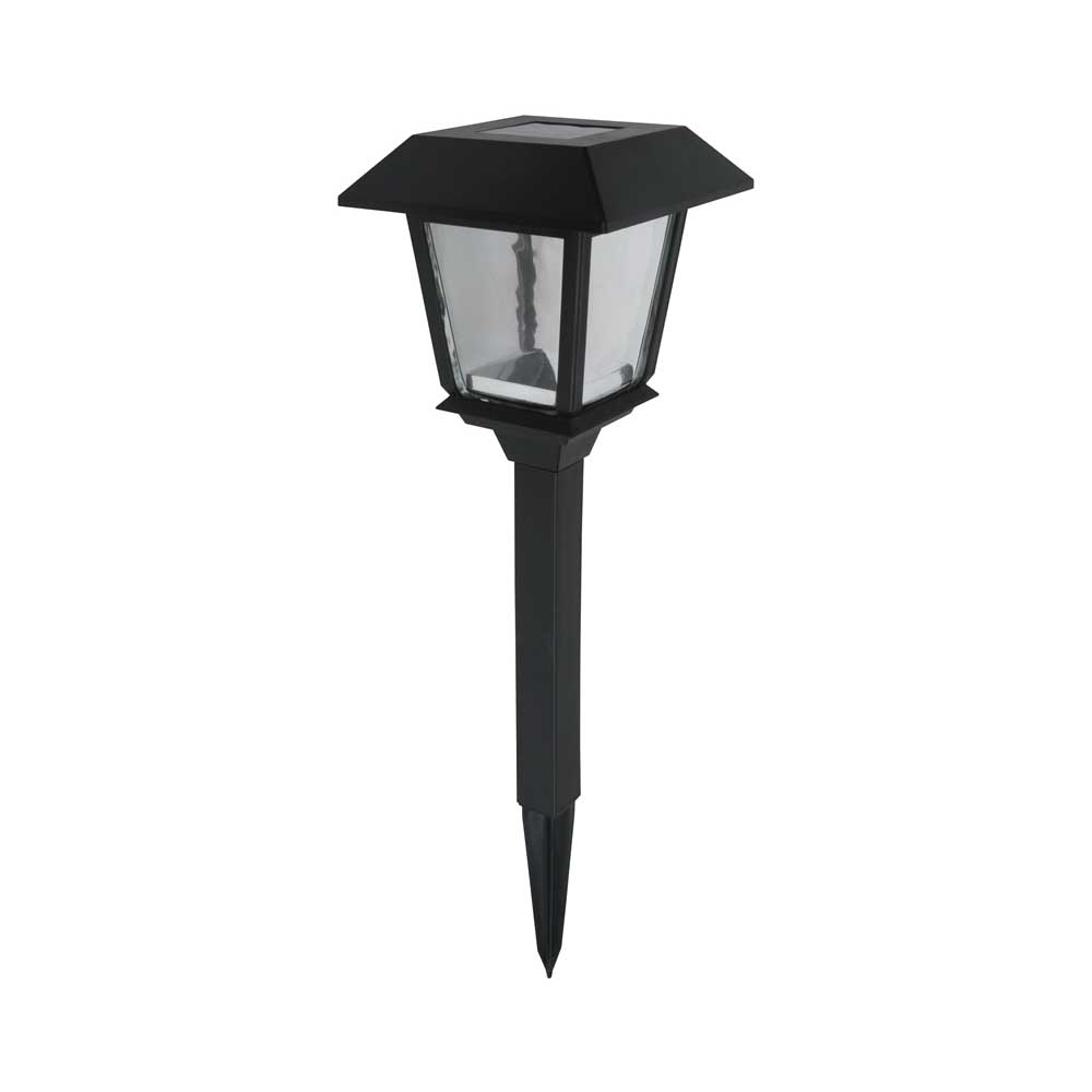 Picture of Boston Harbor 24180 Coach Stake Light, Ni-MH Battery, AA Battery, 1-Lamp, LED Lamp, Plastic Fixture, Black