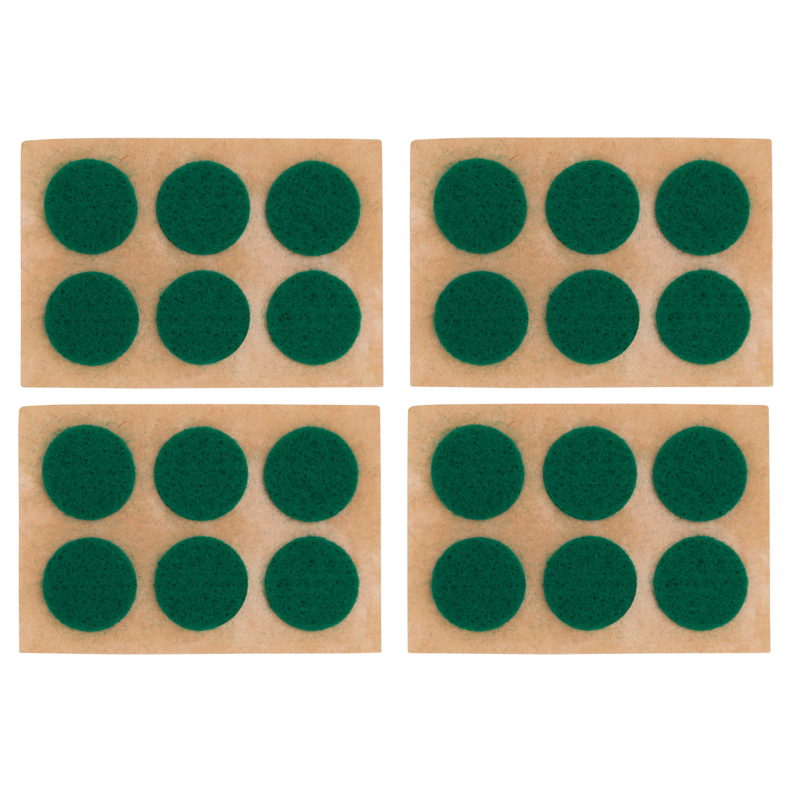 Picture of ProSource PH-122294-PS Furniture Pad, Felt Cloth, Green, 5/8 in Dia, Round