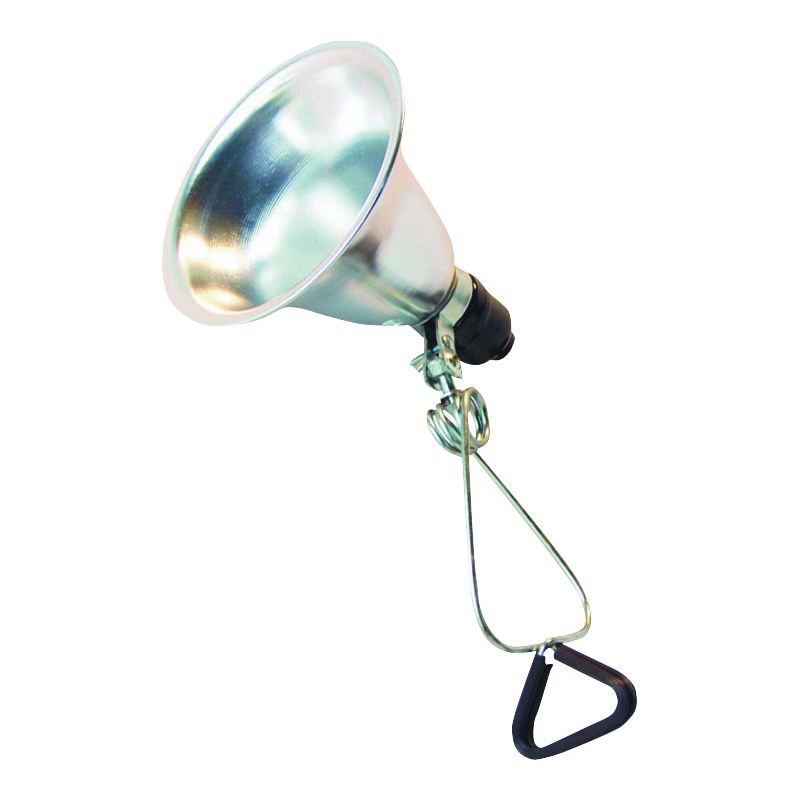 Picture of Powerzone ORCL060506B Clamp Light, Incandescent Lamp, Silver
