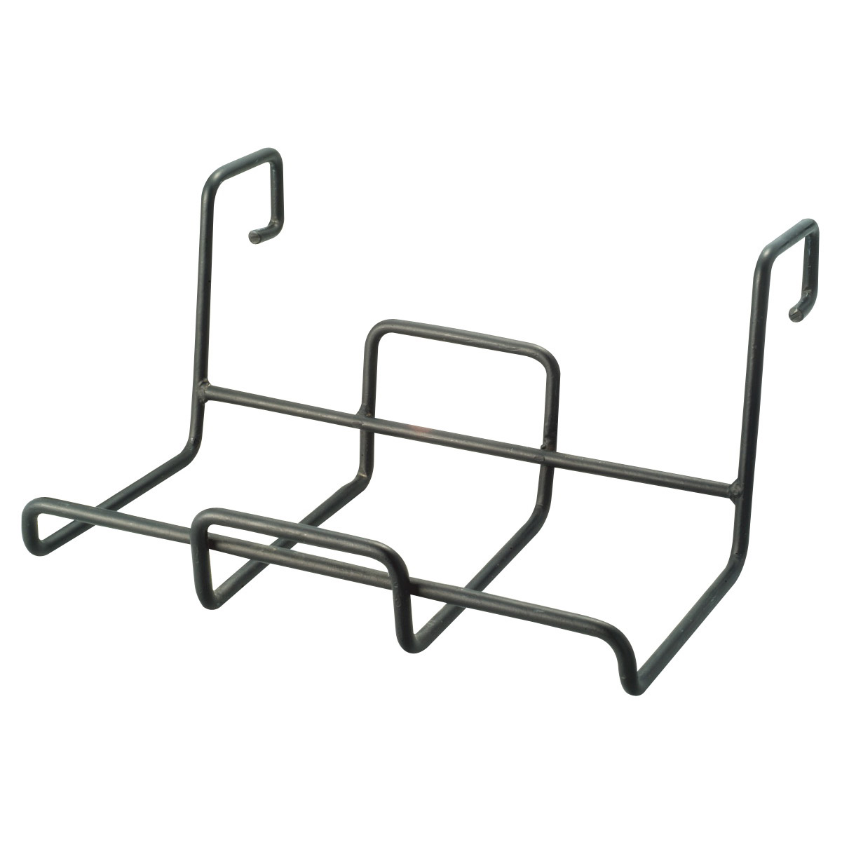 Picture of Landscapers Select GB-4327 Square Planter Holder with Hanger, Steel, Black, Powder coated