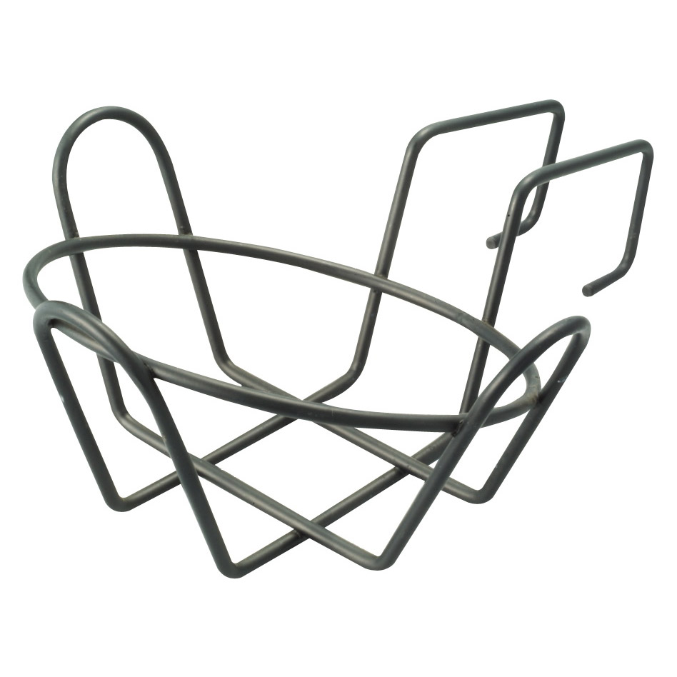 Picture of Landscapers Select GB-4326 Round Planter Holder with Hanger, Steel, Black, Powder coated