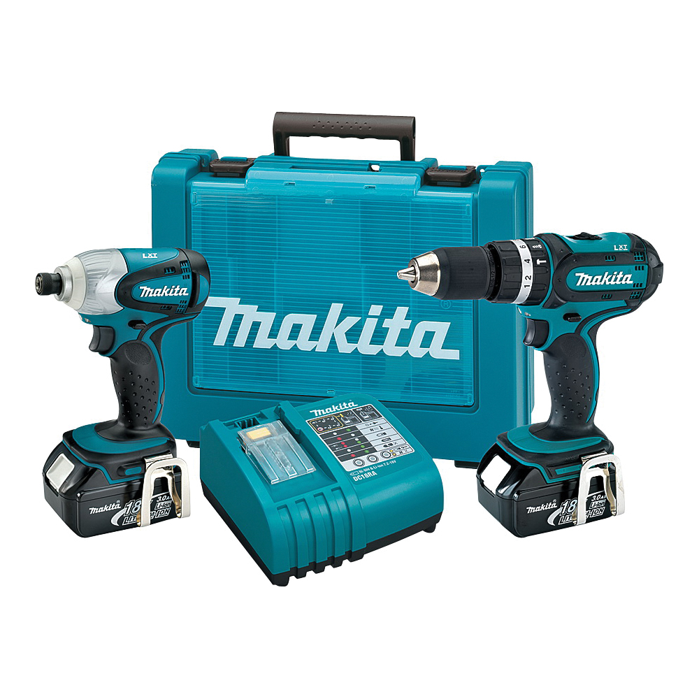 Picture of Makita XT261M/XT211MB Two-Tool Combo Kit, Battery Included: Yes
