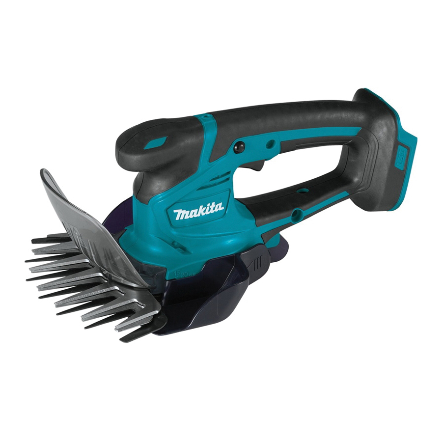 Picture of Makita XMU04Z Cordless Grass Shear, 5 Ah, 18 V Battery, Lithium-Ion Battery, 6-5/16 in Cutting Capacity, Teal