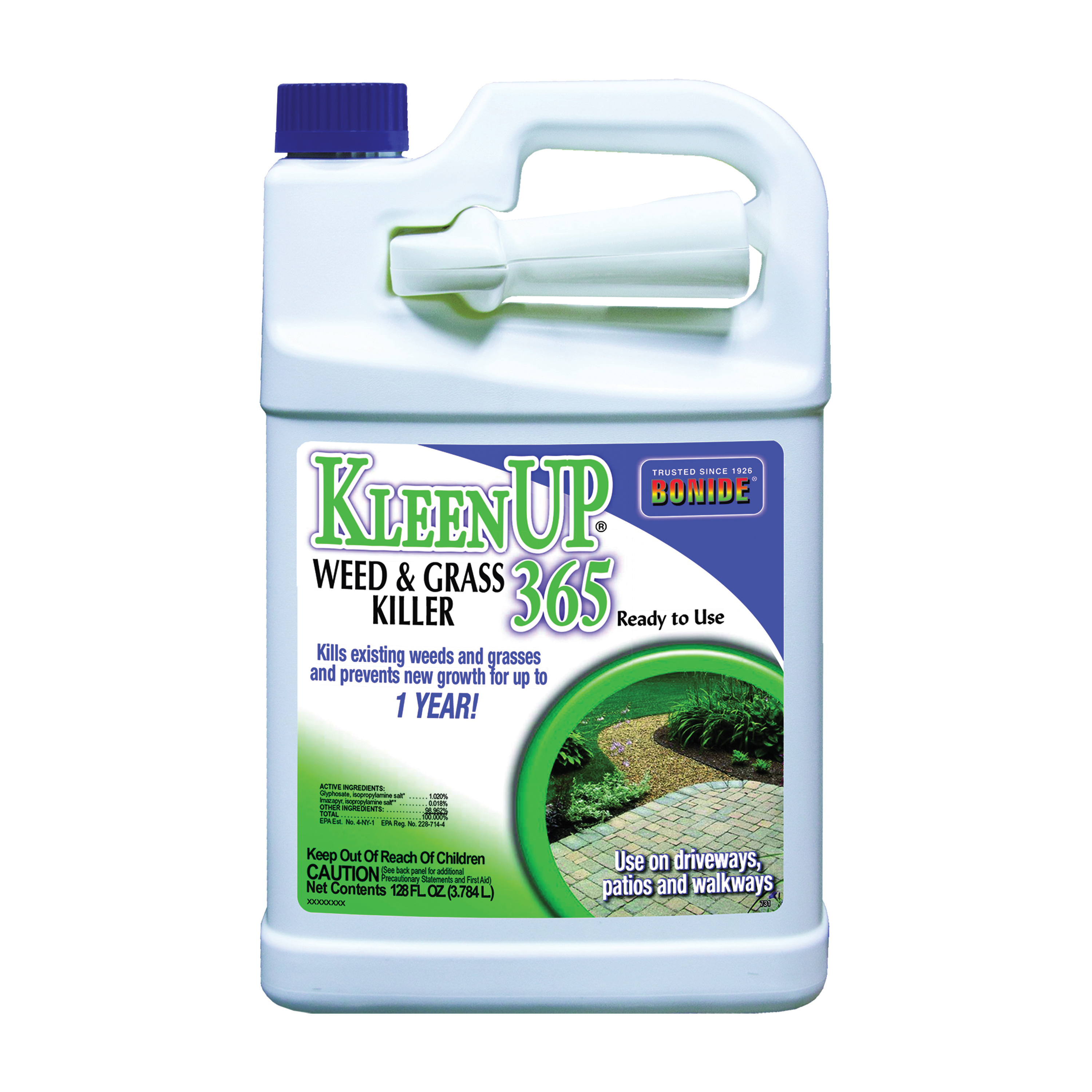 Picture of Bonide 731 Weed and Grass Killer, Liquid, Brown/Tan, 1 gal Package