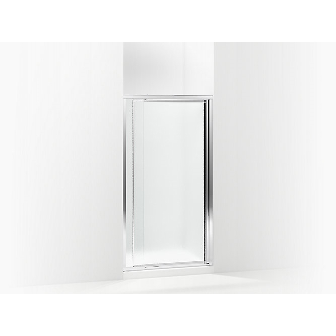 Picture of Sterling 1500D-36S Shower Door, Textured Glass, Framed Frame, Aluminum Frame