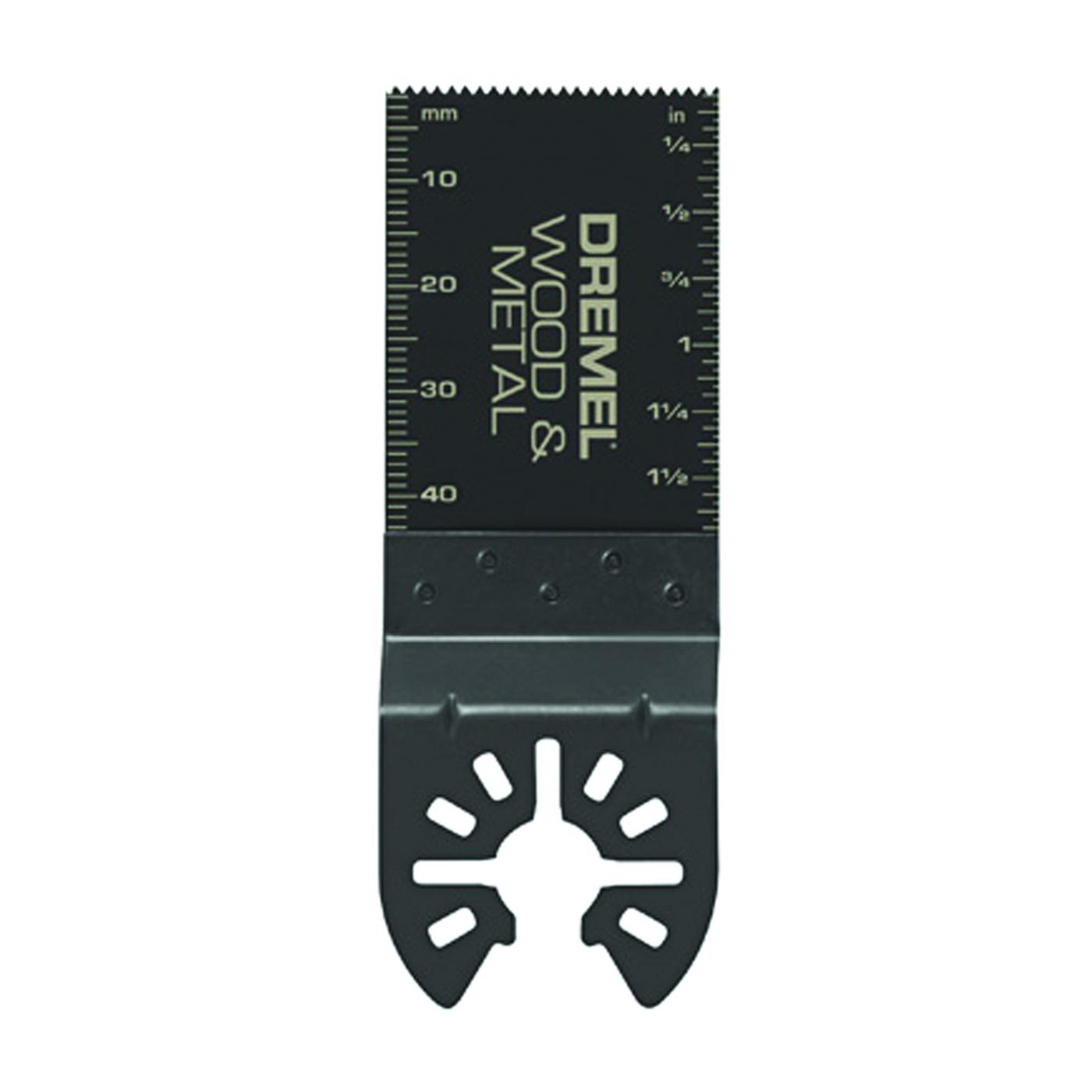 Picture of DREMEL MM482 Oscillating Blade, 1-5/8 in D Cutting, Bi-Metal