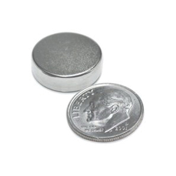 Picture of Magnet Source 07047 Super Magnetic Disc, Neodymium, 0.709 in Dia, 0.118 in H