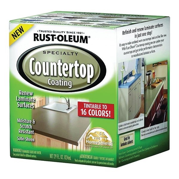 Picture of RUST-OLEUM SPECIALTY 246068 Countertop Paint, Liquid, Solvent-Like, 824 mL Package