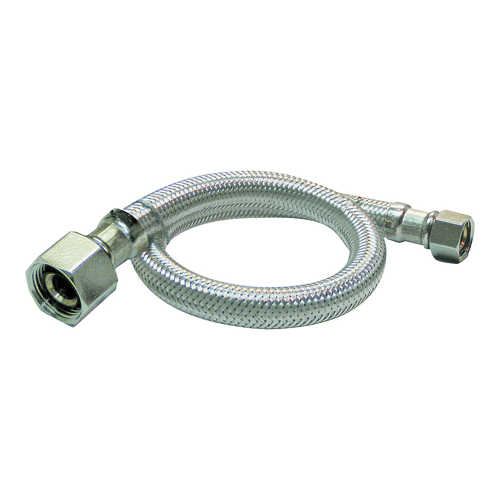 Picture of Plumb Pak EZ Series PP23840 Sink Supply Tube, 1/2 in Inlet, Compression Inlet, 1/2 in Outlet, FIP Outlet, 20 in L