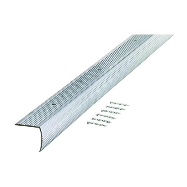 Picture of M-D 78105 Stair Edging, 73.63 in L, 1.28 in W, Aluminum
