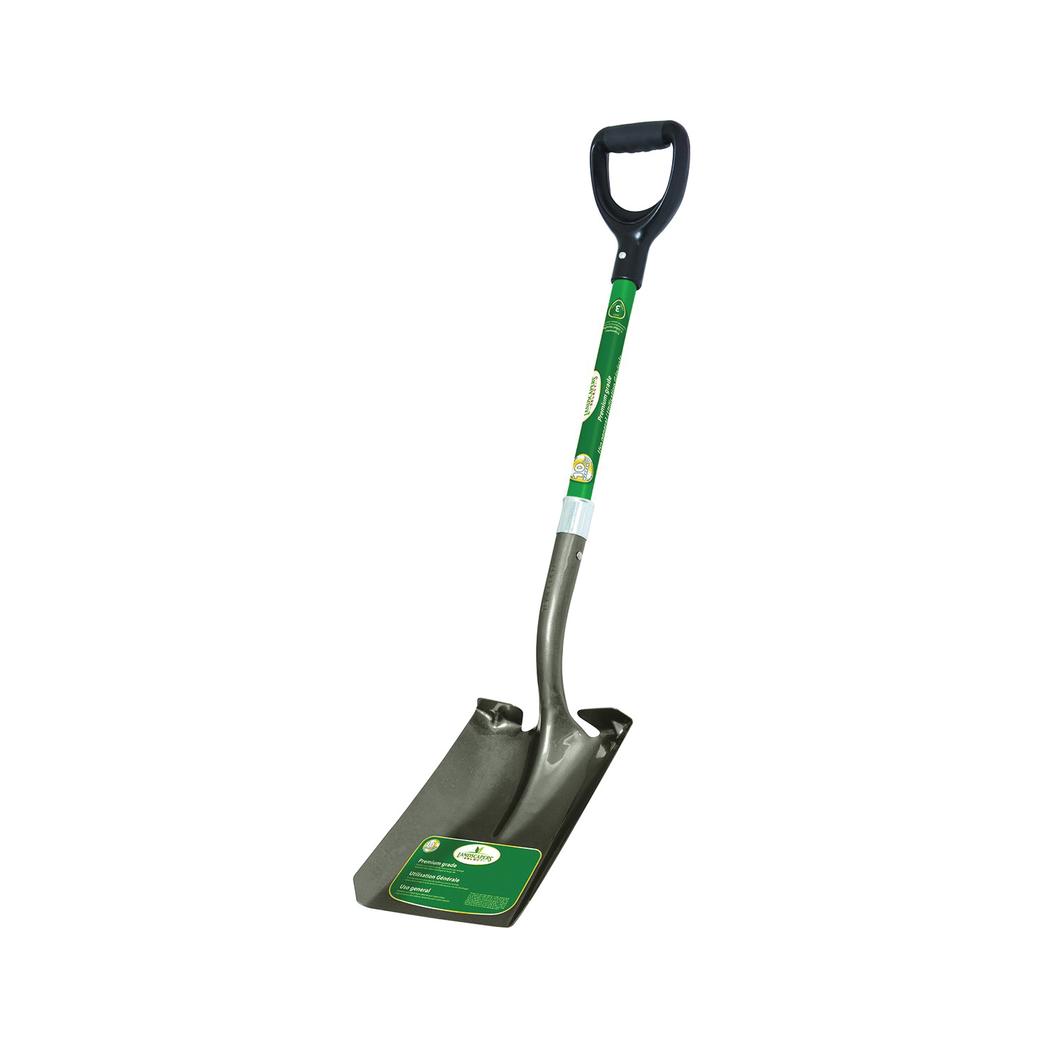 Picture of Landscapers Select 34600 Transfer Shovel, Steel Blade, Fiberglass Handle, D-Shaped Handle, 30 in L Handle