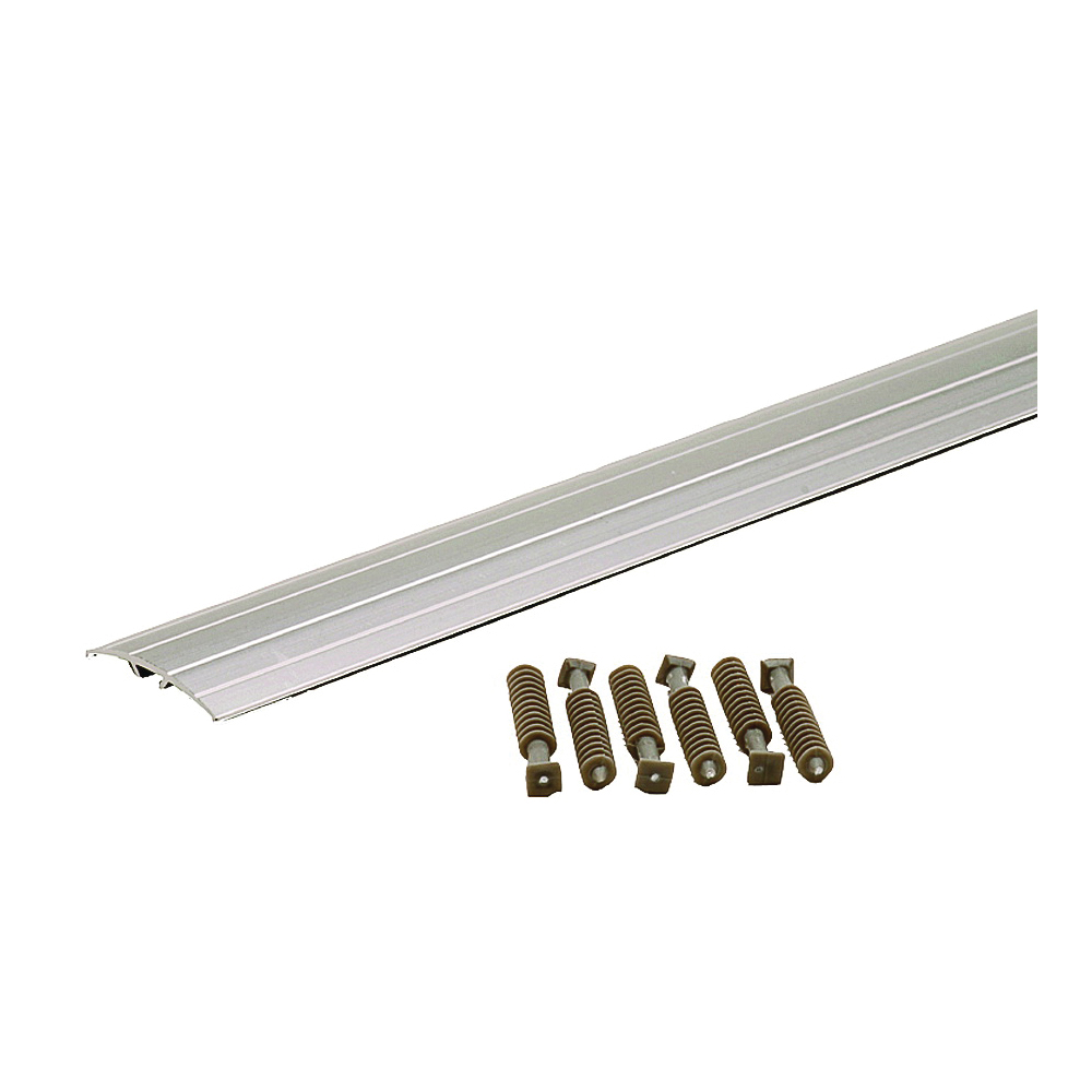 Picture of M-D 46131 Multi-Floor Transition, 36.13 in L, 1-1/2 in W, Aluminum, Silver