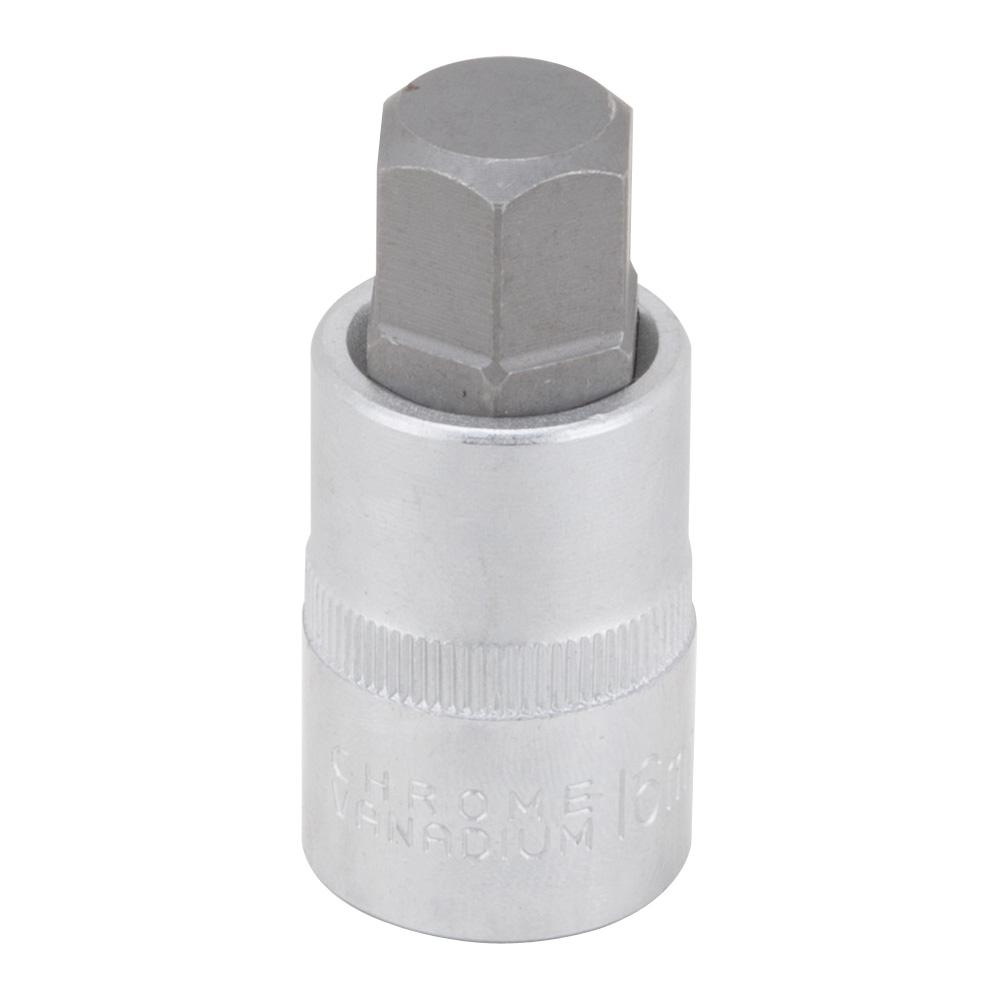 Picture of Vulcan 3506012013 Hex Bit Socket, 16 mm Tip, 1/2 in Drive, Chrome Vanadium