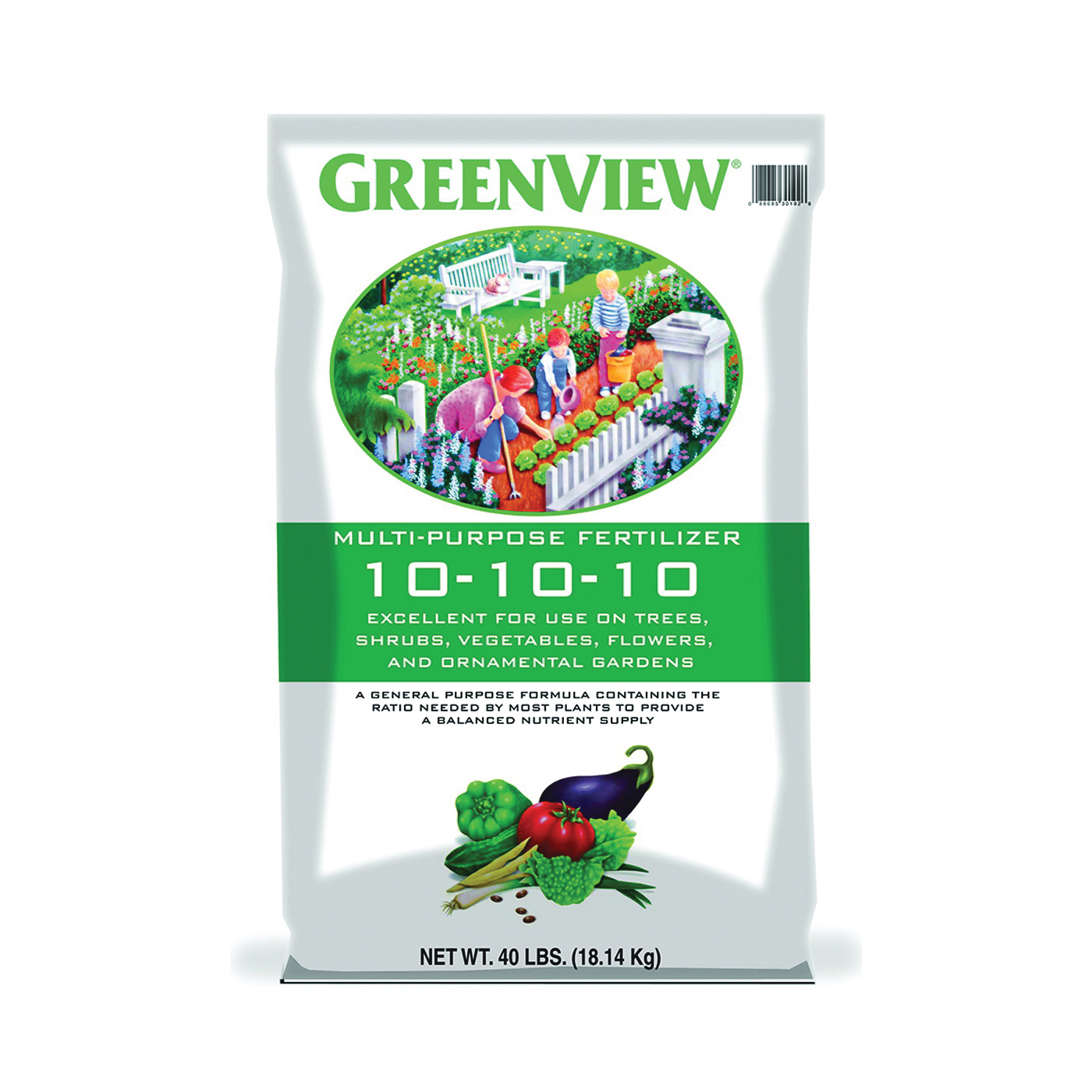 Picture of GreenView 21-301925 Plant Fertilizer, Granular, 40 lb Package, Bag