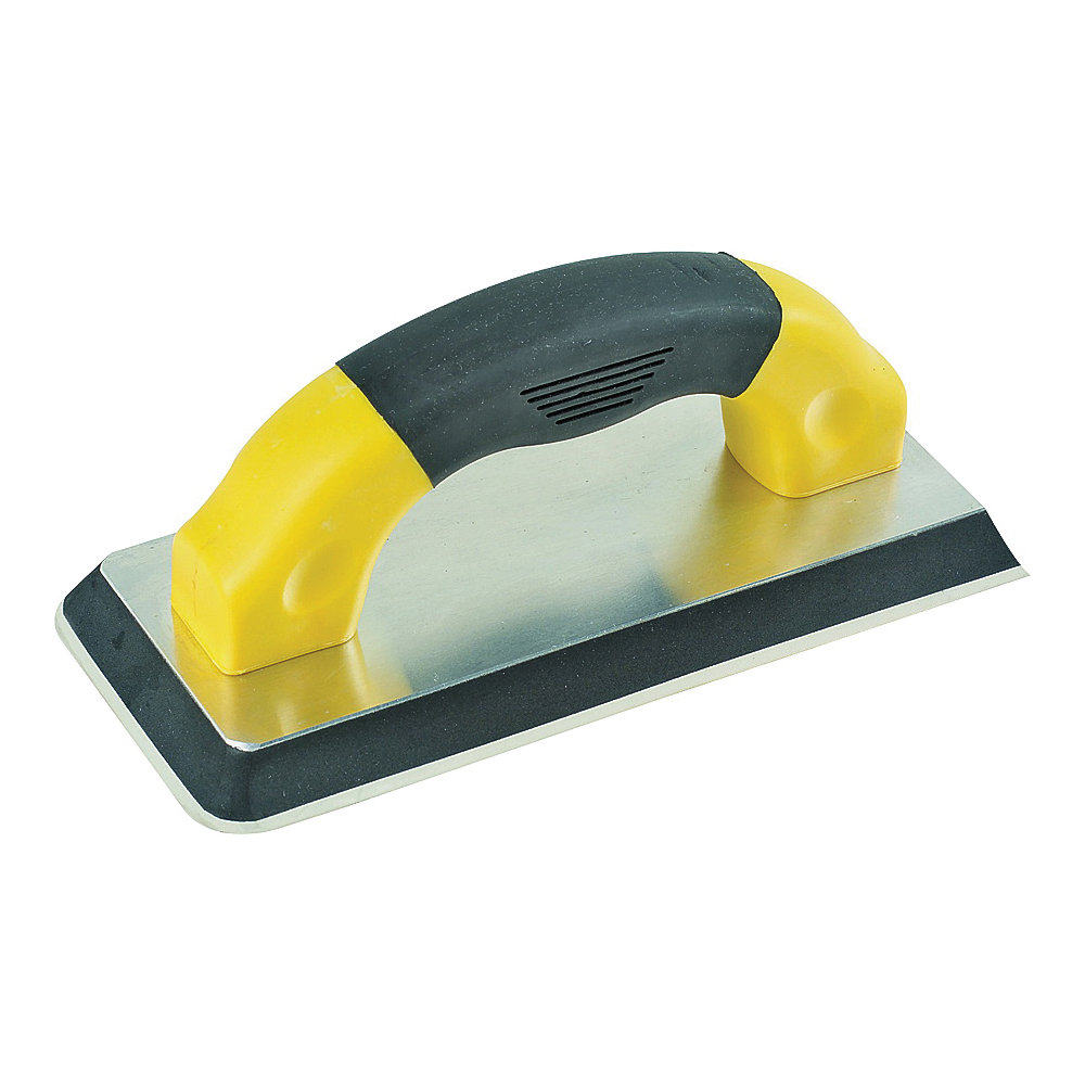 Picture of M-D 49827 Grout Float, 9 in L, 4 in W, Ergonomic Handle, Gum Rubber