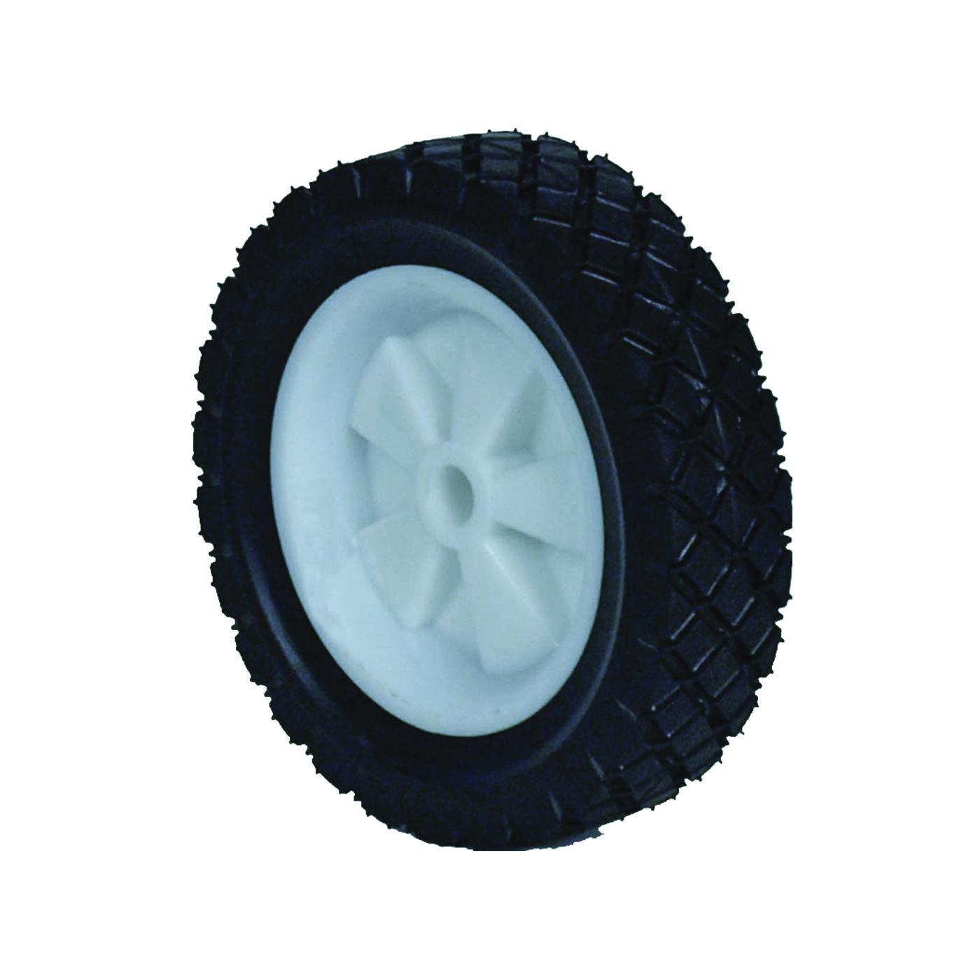Picture of MARTIN WHEEL 715P-OF Lawn Mower Wheel, Semi-Pneumatic, Plastic/Rubber