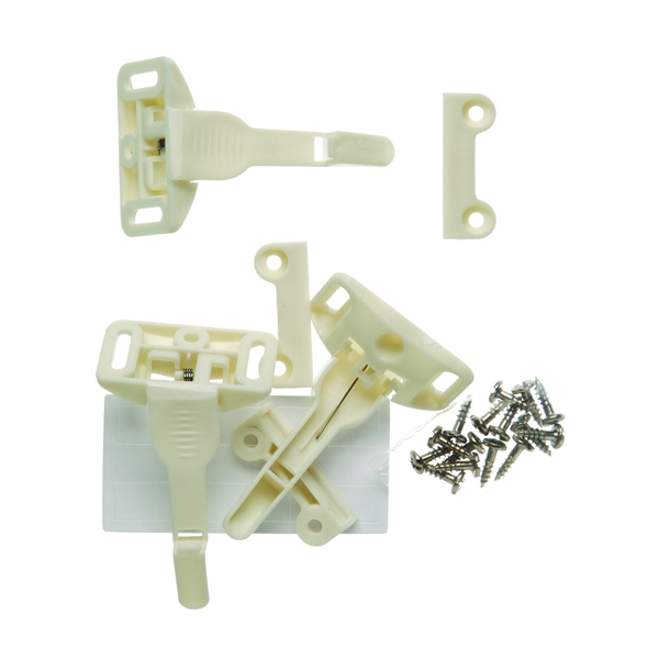 Picture of Safety 1st 48447 Cabinet and Drawer Latch, Plastic, White