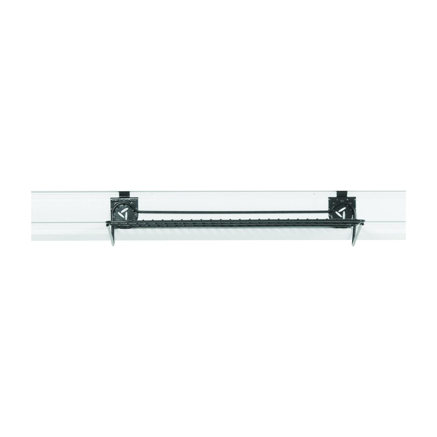 Picture of GLADIATOR GAWU24WSBH Wire Shelf, 35 lb Capacity, Steel Shelving, 24 in OAW, 4-1/2 in OAH, 12-1/2 in OAD