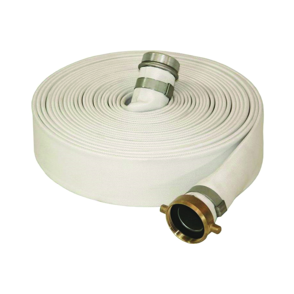Picture of ABBOTT RUBBER 1131-2000-50 Mill Discharge Hose, 50 ft L, Male Thread x Female, Rubber