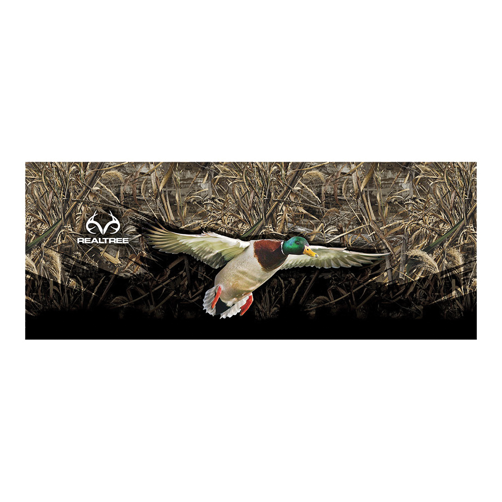 Picture of REALTREE RT-TG-DK-MX5 Decal, Duck Tailgate Graphic, White Legend, Vinyl Adhesive