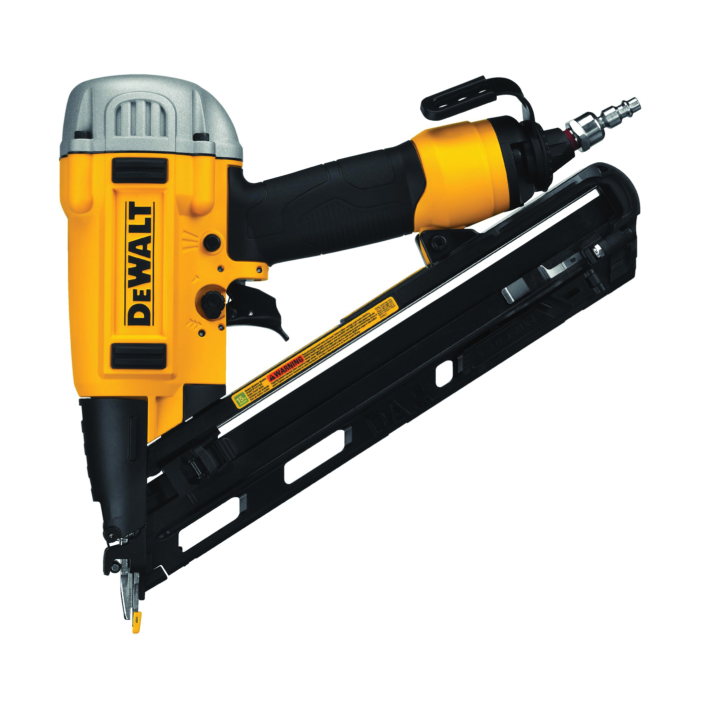 Picture of DeWALT PRECISION POINT DWFP72155 Finish Nailer, 100 Magazine, Glue Collation