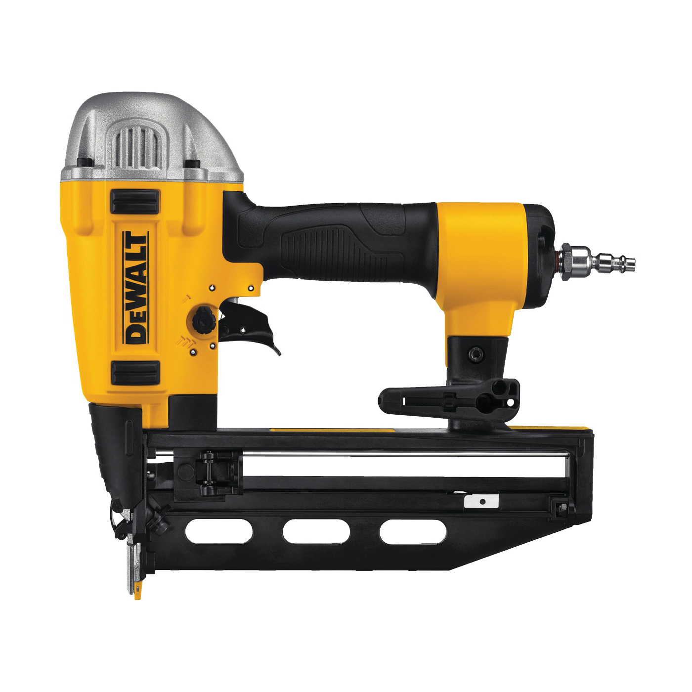Picture of DeWALT PRECISION POINT DWFP71917 Finish Nailer, 100 Magazine, Glue Collation