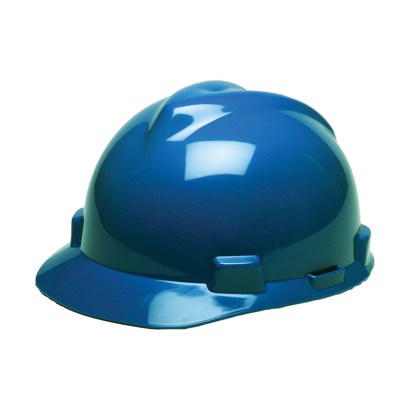 Picture of MSA SWX00307/475359 Hard Hat, 4-Point Textile Suspension, HDPE Shell, Blue, Class: E
