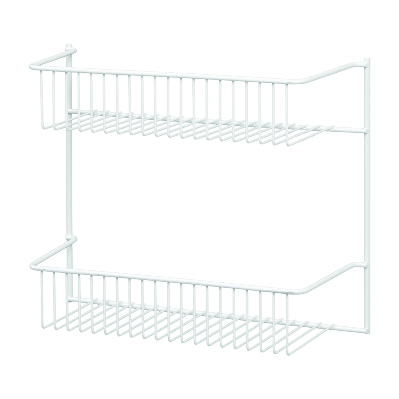 Picture of ClosetMaid 8002 Wall Rack, Steel, White