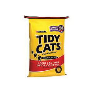 Picture of Tidy Cats 7023010711 Cat Litter, 10 lb Capacity, Gray/Tan, Granular, Bag