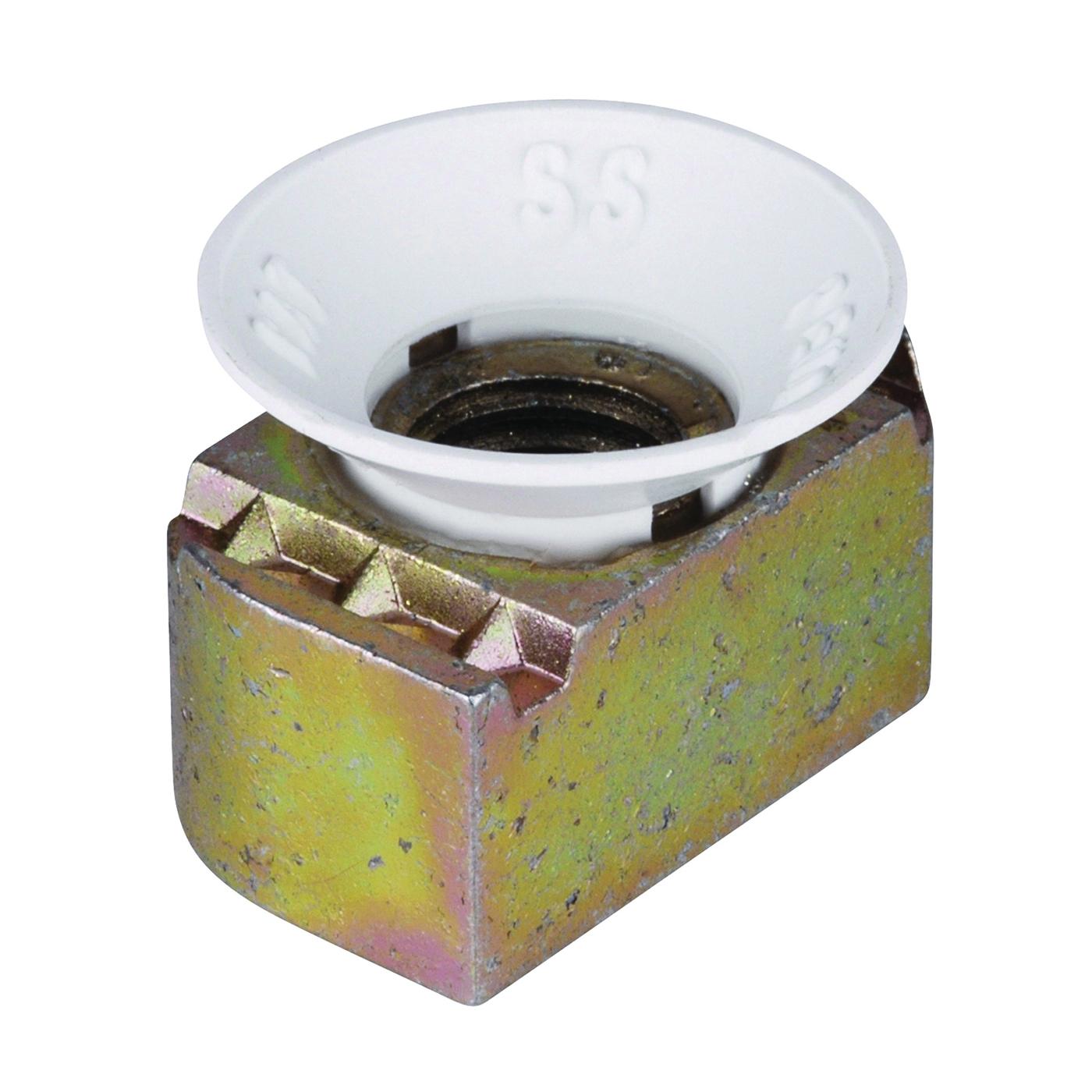 Picture of SuperStrut ZCM1001/4-10 Cone Nut, Nylon/Steel, Gold, Galvanized