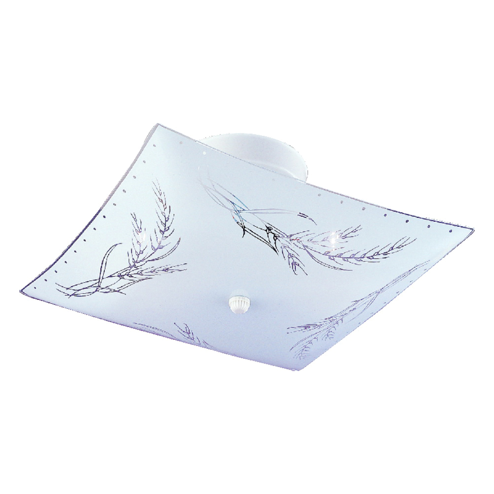 Picture of Boston Harbor F98WH02-1266-3L Ceiling Light Fixture, 60 W, 2-Lamp, CFL Lamp, White Fixture