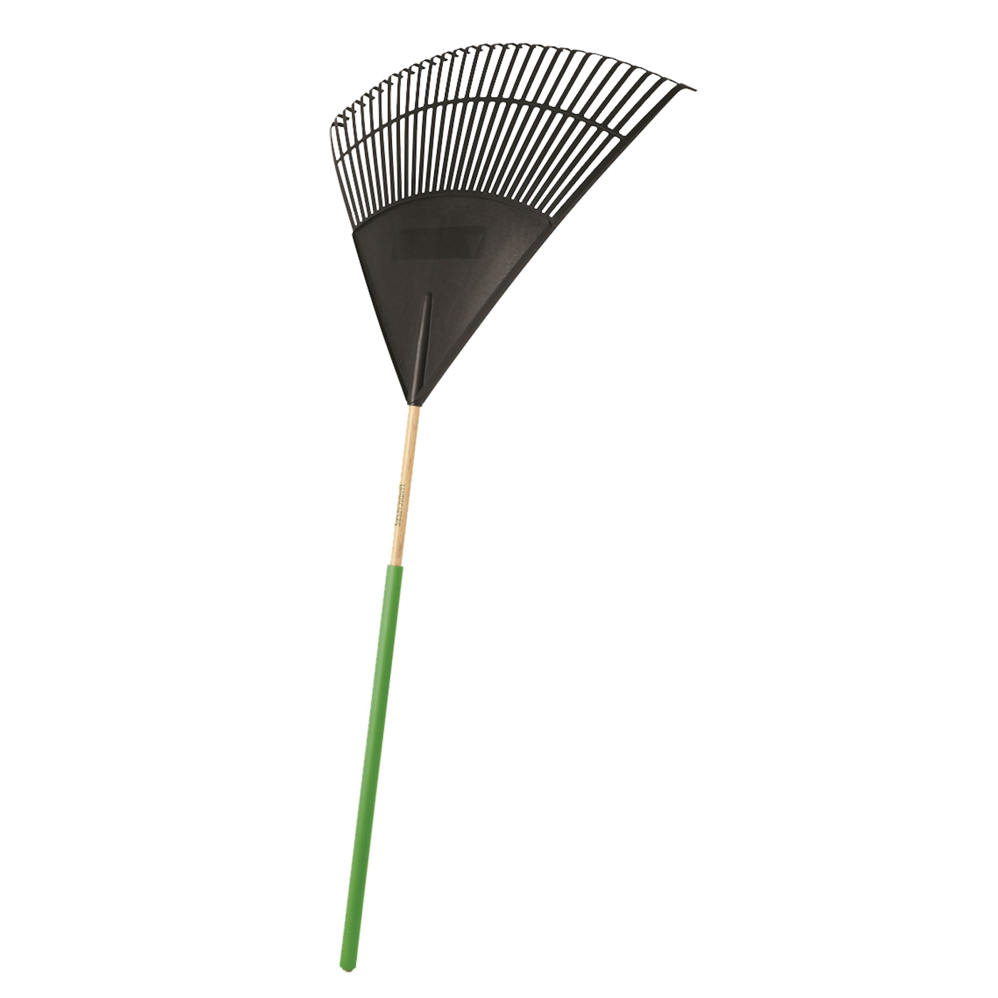 Picture of Landscapers Select 34590 Lawn/Leaf Rake, Poly Tine, 30 -Tine, Wood Handle, 48 in L Handle
